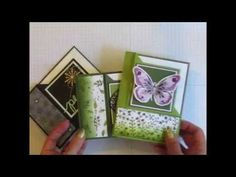 Corner Fold Ornament Thinlit Card - Stamp Your Art Out!