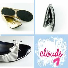 Fit In Clouds Ballet Flat Shoe Giveaway on Classy Career Girl blog!