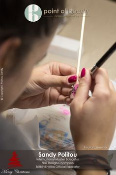 Nail art seminars. - Point of beauty