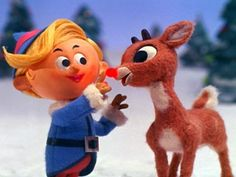 Hermey the elf & Rudolph