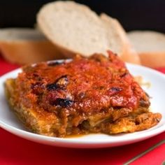 Angelina's Eggplant Parmesan an authentic recipe from a real Italian Grandmother.