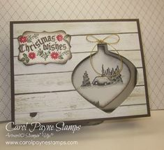 Stampin' Up!, Cozy Christmas, Farmer's Market, DIY Crafts, handmade Christmas Cards. This stamp set and many more are on sale 15% off and TODAY IS THE LAST DAY! My blog for more info:http://www.carolpaynestamps.com/2015/10/stampin-up-fresh-cozy-christmas.html