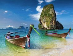 Picture of Railay beach in Krabi Thailand stock photo, images and stock photography. Thailand Honeymoon, Krabi Thailand, Honeymoon Destinations, Honeymoon Places, Honeymoon Packages, Honeymoon Ideas, Places To Travel, Places To Visit, Railay Beach