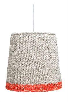 Products details - Verlichting - hanglamp katoen gebreid L