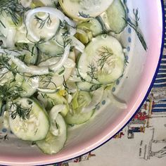 Keep Up the Memory of Summer With Creamy Cucumber and Jalapeño Salad