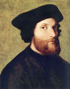 Lorenzo Lotto, Self-Portrait, 1540