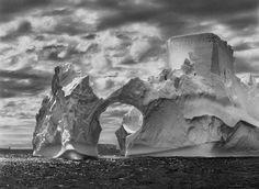 Sebastiao Salgado: Iceberg between Paulet Island and the South Shetland Islands in the Weddell Sea. , Antarctic Peninsula, 2005