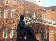 Explore Harvard University in This Photo Tour: Harvard University Statue of Charles Sumner