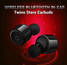 True Wireless Stereo Headphones Bluetooth Earbuds Earphones Noise Canceling (Black) $19.99 BY FREE SHIPPING! http://www.linkdelight.com/P0031631-True-Wireless-Stereo-Bluetooth-Headphones-Earphones-Noise-Canceling-Black.html