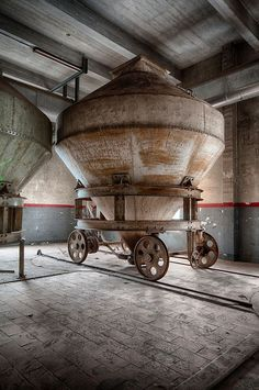 Stella Brewery, Leuven, Belgium. Abandoned after they built a more modern facility nearby.