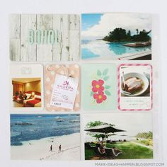 Project Life Travel Bohol, Philippines  project life vacation  project life summer  project life dear lizzy polka dot party mini kit  thickers  project life beach Polka Dot Party, Polka Dots, Project Life Travel, Bohol Philippines, Becky Higgins, Project Life Layouts, Diy Gifts, Design Inspiration, Scrapbook