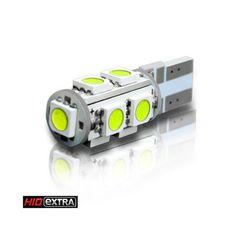 RAZIR T10 9-SMD 5050 Flat Base LED (PAIR) $9.95