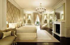 Traditional Bedroom by Candy & Candy in Monte Carlo, Monaco