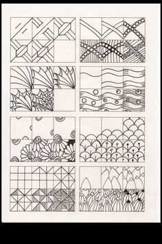 Doodles - Tangle Instructions