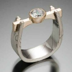 mokume gane rings - Google Search