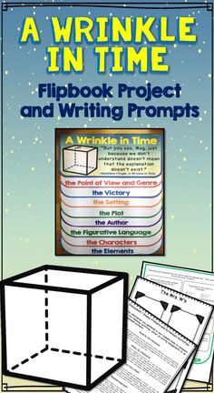 This fun, interactive flippable is a great tool to study literature. Students will love learning literary elements like setting, plot, characterization, conflict, resolution, theme, point of view, and genre in this non-threatening format. It makes a great variation from the traditional book report. Also includes writing prompts analysis activities--perfect for formative assessment and higher level thinking.