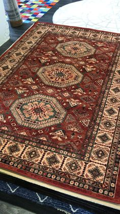 Rug Warehouse, Traditional Rugs, Border Design, Livingroom Layout, Classic Rugs, Wool Area Rugs, Rugs, Medallion Design, Modern Traditional