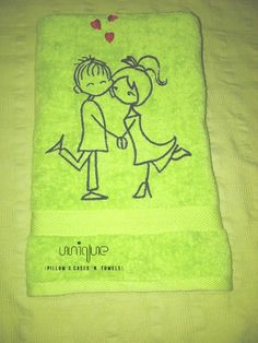 Cute and gorgeous towel, made from the finest materials, For more of our crafts Go to  https://www.profiletree.com/unique-pillows  #crafts, #pillows, #cushions, #towels, #handmade, #personalized, #bathrobe, #pillowcases,