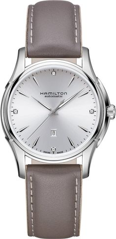Hamilton Watch Jazzmaster Viewmatic Lady #add-content #basel-18 #bezel-fixed #bracelet-strap-leather #brand-hamilton #case-depth-10-3mm #case-material-steel #case-width-34mm #cws-upload #date-yes #delivery-timescale-call-us #dial-colour-silver #discount-code-allow #gender-ladies #luxury #movement-automatic #new-product-yes #official-stockist-for-hamilton-watches #packaging-hamilton-watch-packaging #price-on-application #style-dress #subcat-jazzmaster #supplier-model-no-h32315891