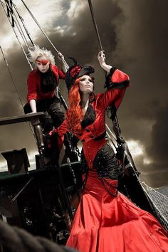 """""""Shall we run away to sea?""""  """"To see what?""""  """"To see what fine pirates we'd make..."""""""