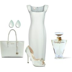 """""""Fitted dress."""" by malathik on Polyvore"""