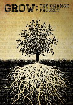 Grow Poster - Sermon Concept Art