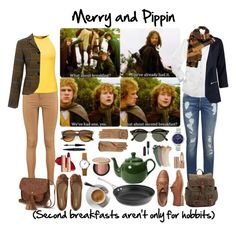 Hobbit style//Merry & Pippin by lulu15emma on Polyvore featuring polyvore fashion style Raoul Karen Walker Tommy Hilfiger Boohoo Aéropostale Gap Vero Moda Nine West Wilsons Leather Burberry ZeroUV Ray-Ban Gucci Too Faced Cosmetics tarte Bobbi Brown Cosmetics MAKE UP FOR EVER Calphalon clothing
