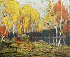 Tom Thompson - great Canadian painter! Love every chance to look at a copy of his 'Fall Woods' from the living room sofa!