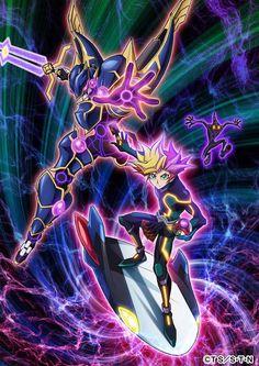Imagen promocional oficial y diseños de personajes del Anime Yu-Gi-Oh! VRAINS.