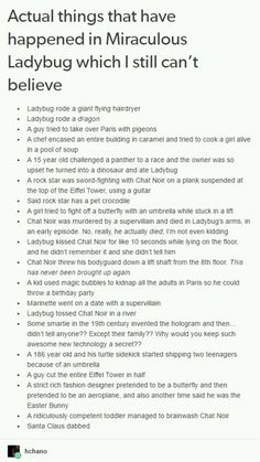 Actual Things That Have Happened in Miraculous Which I Still Can't Believe  *literally just died laughing*
