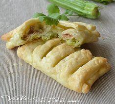Sfogliatelle con zucchine e tonno ricetta facile e veloce