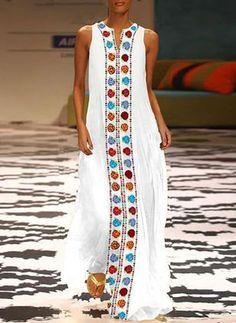 ✔ Fashion Dresses Maxi Floral Prints - New Ideas Beautiful Dress Designs, Beautiful Dresses, Awesome Dresses, Vestidos Vintage, Vintage Dresses, Kaftan Designs, Moda Hippie, Casual Dresses, Fashion Dresses