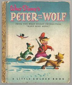 1947 Golden Book, Peter and the Wolf