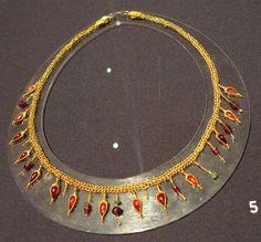 1st Century CE (Sarmartians). Gold, garnet, quartz- forging, stamping, filigree, grinding. From Mykolaiv region, 1974.