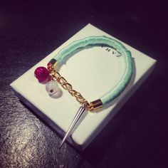 Mint colour bracelet