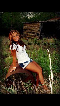 Sr girl country shot