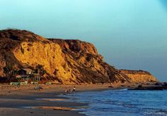 Crystal Cove State Park, Laguna Beach:This beautiful beach is located in Newport cost /Irvine between New port and Laguna Beach.  The restaurant Beachcomber has a view and the food is great, but can be crowded. Primitive camping and trails across the 101