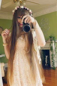 Mori girl and long hair
