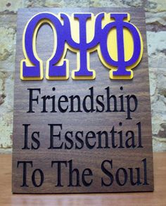 Omega Psi Phi... Indeed it is! I love it