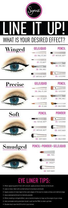 Fotos de moda | Trucos para aplicar el eyeliner | http://soymoda.net