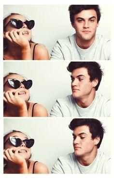 Ethan Dolan, Grayson Dolan, Cute Relationship Goals, Cute Relationships, Cute Couples Goals, Couple Goals, Dollan Twins, Emma James, Emma Chamberlain