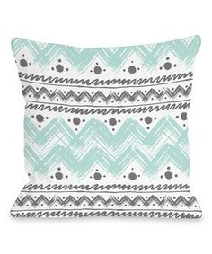 Look at this #zulilyfind! Anya Stripe & Dot Throw Pillow by OneBellaCasa #zulilyfinds