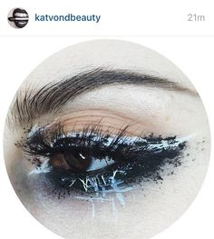 I just wanted to take a moment to thank @katvondbeauty and @thekatvond. This company has been nothing but supportive since I started and I am honored that my eye has graced their page a time or two. This look was actually one of the most HATED photos I've ever posted with countless negative comments {for the record IDGAF about that} but they don't care either because they're more than just a brand and I love that. KVD Beauty celebrates art in all forms of chaos. And for that I am incredibly…