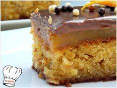 ΚΟΛΑΣΜΕΝΗ ΠΟΡΤΟΚΑΛΟΠΑΣΤΑ!!! - Νόστιμες συνταγές της Γωγώς! Greek Sweets, Greek Desserts, Greek Recipes, Desert Recipes, Cypriot Food, Small Cake, Cake Cookies, How To Make Cake, Vanilla Cake