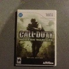 Call of Duty : Modern Warfare Reflex Edition for Nintendo Wii