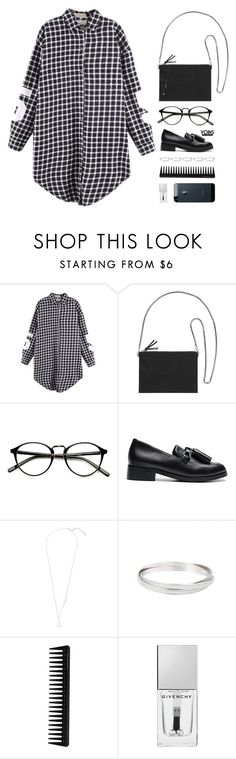 """let's go"" by theglampedia on Polyvore featuring Monki, GHD, Givenchy and shirtdress"