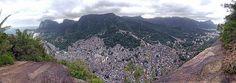 Morros do Rio e Rocinha - Comunidade - Favela - São Conrado - Gávea - Rio de Janeiro - Brasil