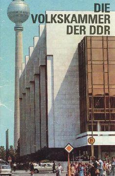 """""""Die Volkskammer der DDR"""" Copyright: DDR Museum, Berlin. Eine kommerzielle Nutzung des Bildes ist nicht erlaubt, but feel free to repin it!"""