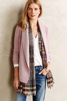 Anthropologie cashmere draped cardigan.