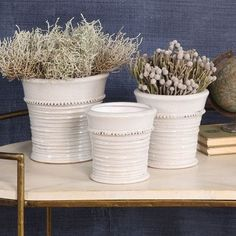 $90.00 Provence Ceramic Cachepot